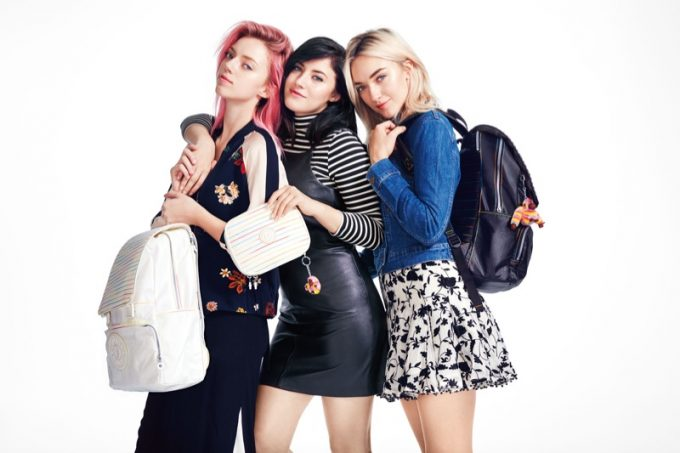 Kipling for cool kids: Back-to-School with Pyper, Starlie & Daisy Smith