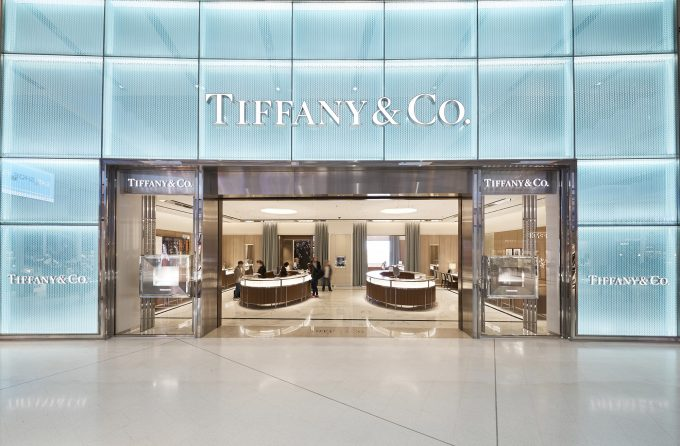 Tiffany opens at Sydney Airport's International terminal