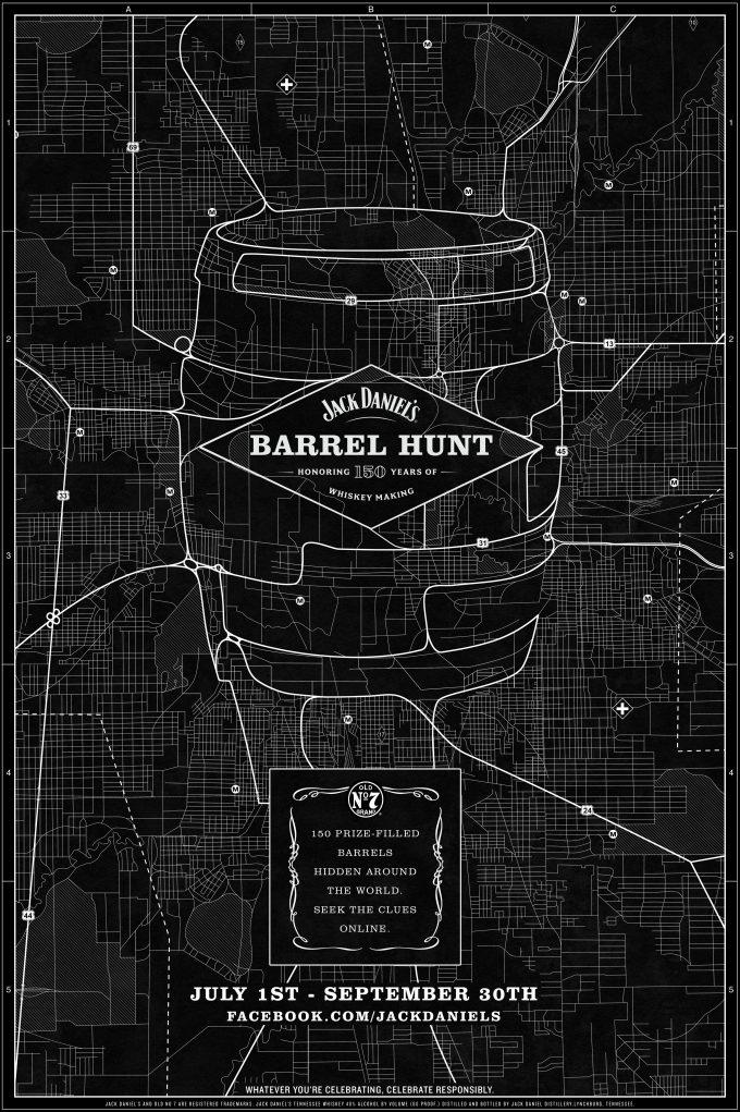 Jack Daniel's Barrel Hunt rolls into world's top airports