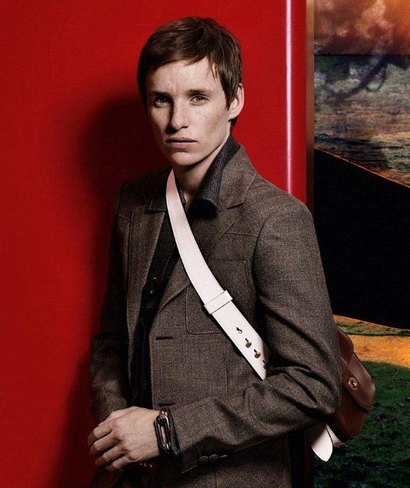 Eddie Redmayne stars in Prada's Autumn campaign