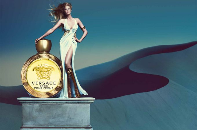 Versace reveals new Eros fragrance