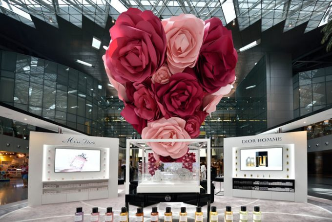Now you can explore Dior's flower gardens in Doha; Qatar Duty Free wows travellers at HIA