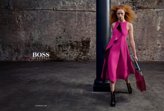 Hugo Boss hits the colour button for Autumn