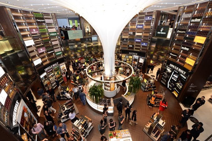 DFS wows travellers with 2nd Duplex Wine & Spirits store at Singapore Changi