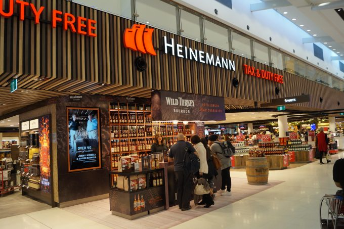 Get a taste for Wild Turkey at Heinemann Sydney duty-free