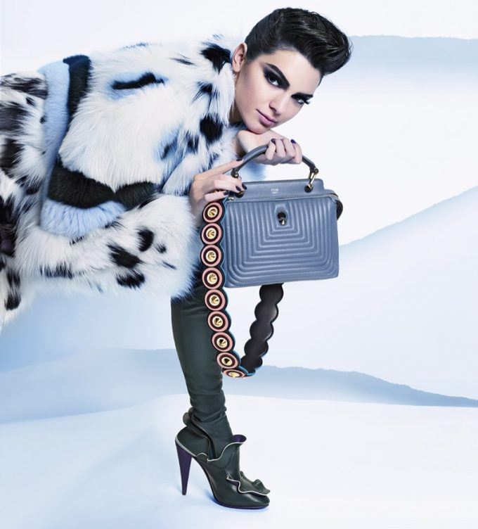 Fendi casts Kendall as the ice queen of fashion