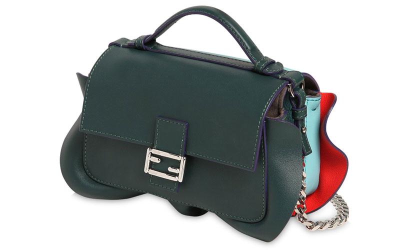 Fendi-Micro-Double-Baguette-Leather-Bag
