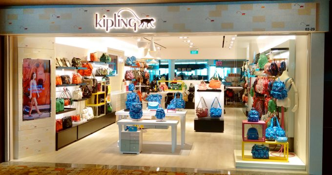 Kipling bags new store at Singapore Changi airport