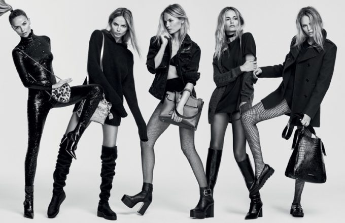Kurt Geiger legs it with Natasha Poly in new campaign