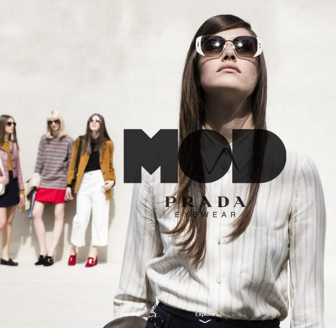 Prada MOD tribe unveils summer eyewear collection