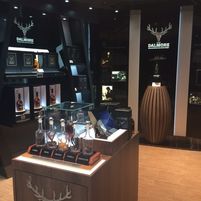 The Dalmore opens luxury whisky boutique with DFS at Singapore Changi airport