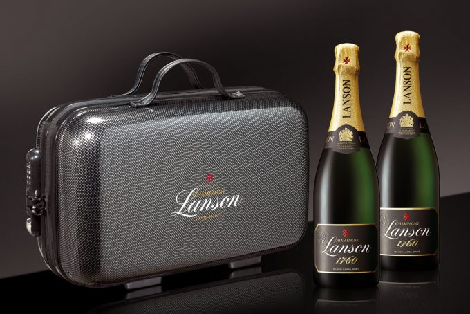 Lanson packs Champagne filled suitcases for Paris travellers