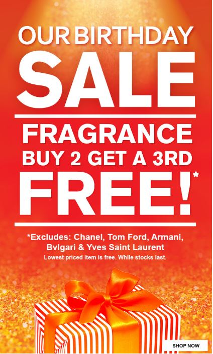 SAVE: 3 for 2 on top perfume brands at Aelia Duty Free New Zealand