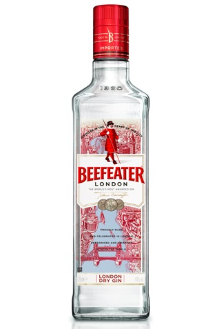 The London Look: Beefeater Gin updates bottle style