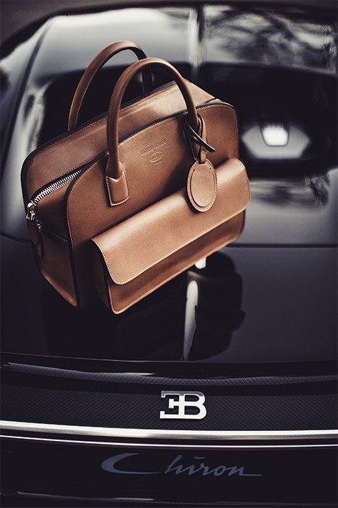 Giorgio Armani collaborates with Bugatti on luxury fashion line