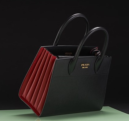 Prada opens its new Bibliotèque bag for autumn