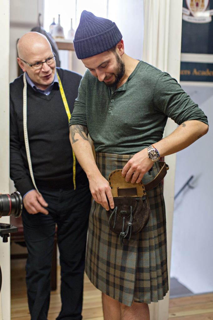 Glenfiddich whisky is launching a menswear fashion line
