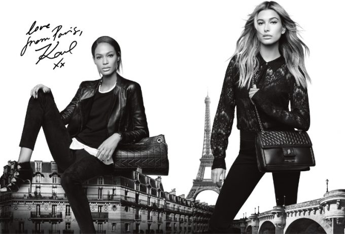 Karl Lagerfeld sends his love from Paris – to the Americas