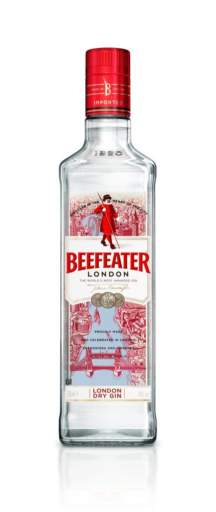 Reinvention of an Icon: Beefeater Redesigns London Dry Bottle