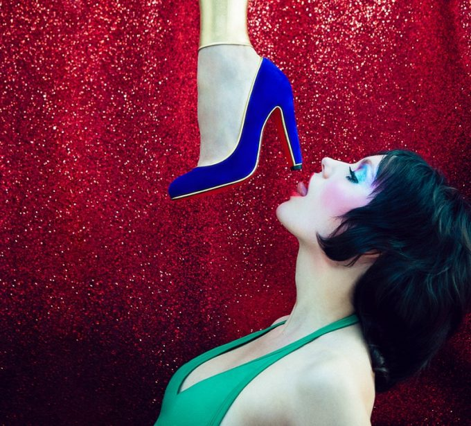 Louboutin rocks the Glam with new collection