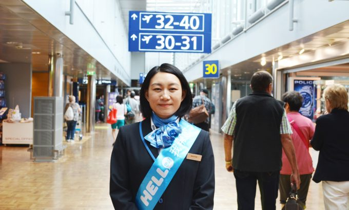 Hello Helsinki! Airport helps Chinese travellers with guide service