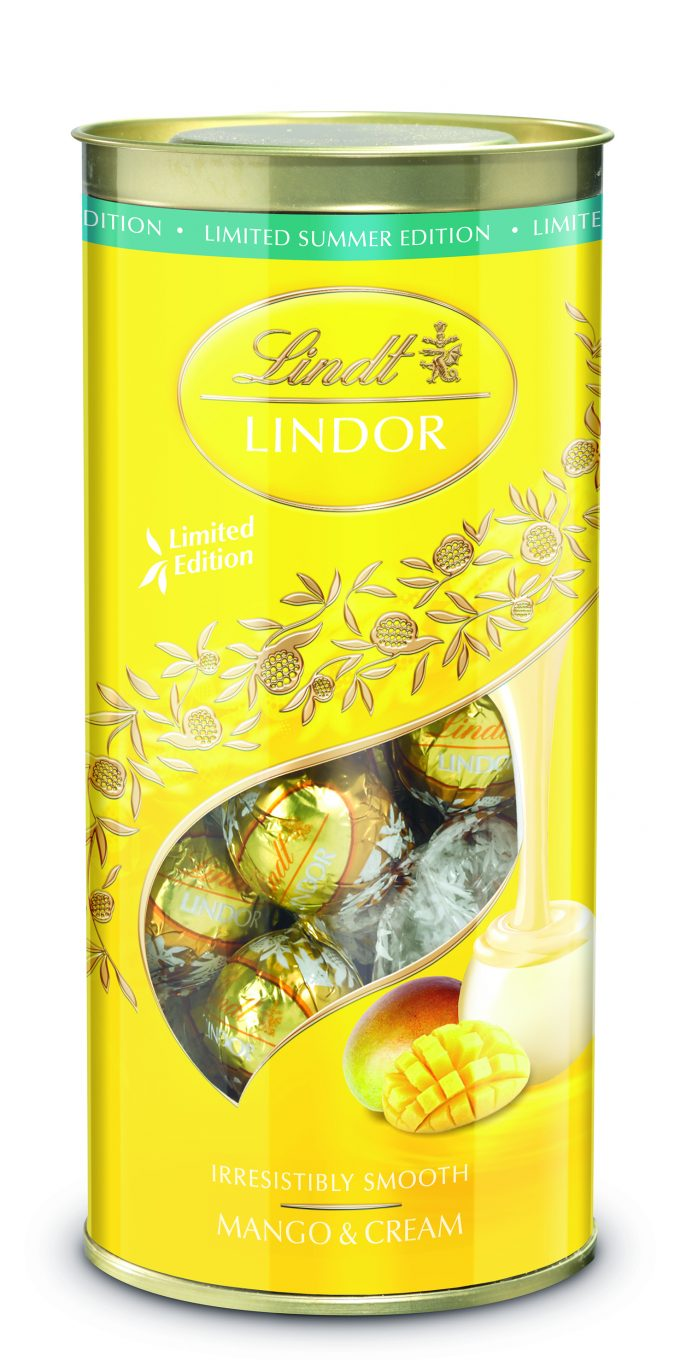 Lindt unveils brand new LINDOR flavour to celebrate summer
