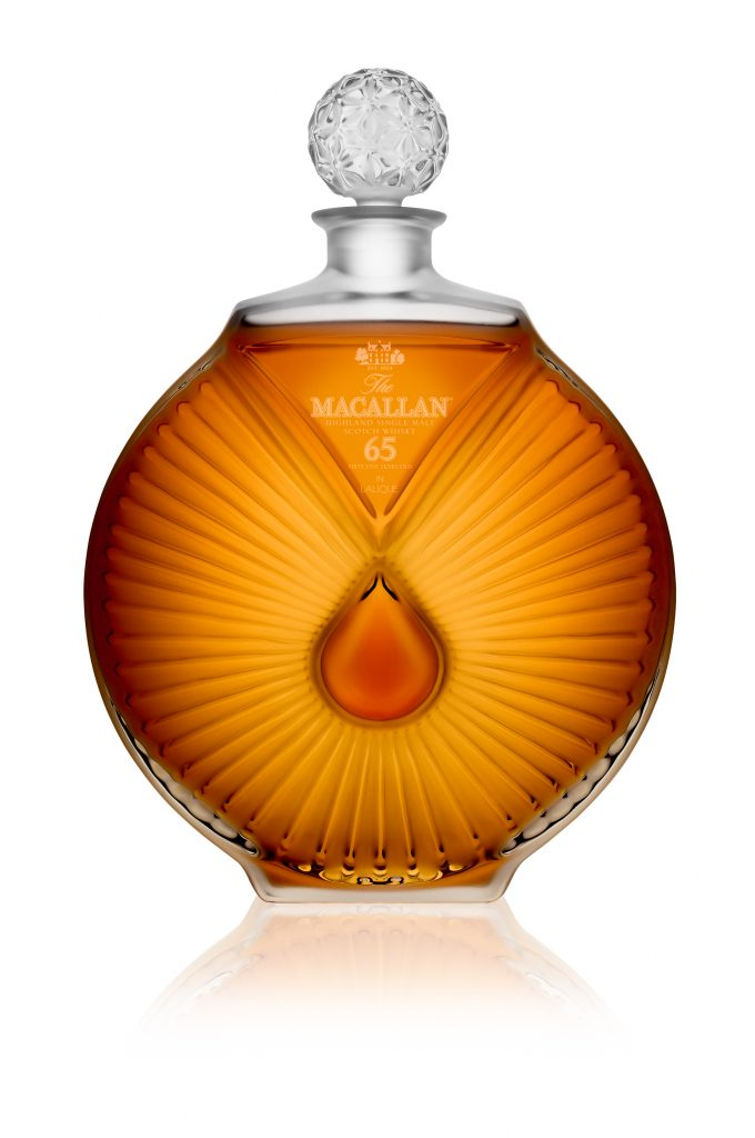 Rare Macallan Peerless Spirit Decanter on sale at Dubai Airport's Le Clos stores