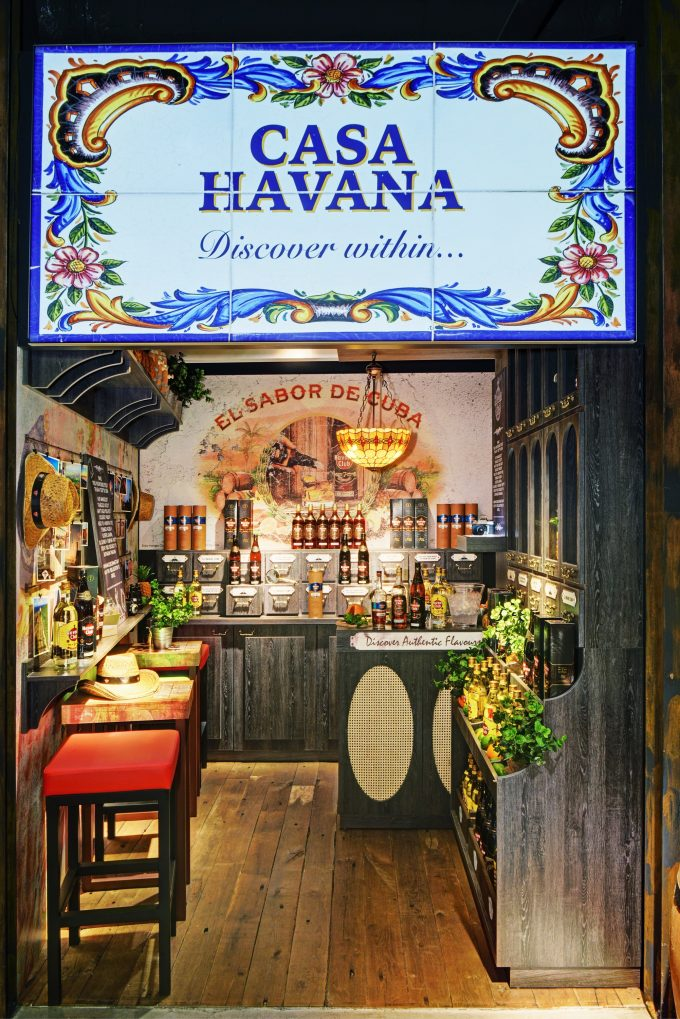 Havana Club's Casa Havana brings a taste of Cuba to Amsterdam Airport