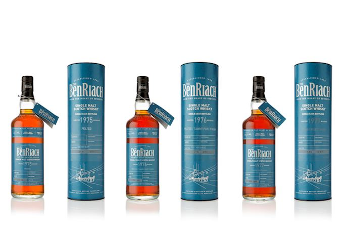 BenRiach unveils 15 new malt whiskies to the world