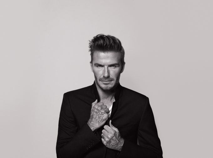 David Beckham uses tattoos to tell his own life story in new Biotherm film