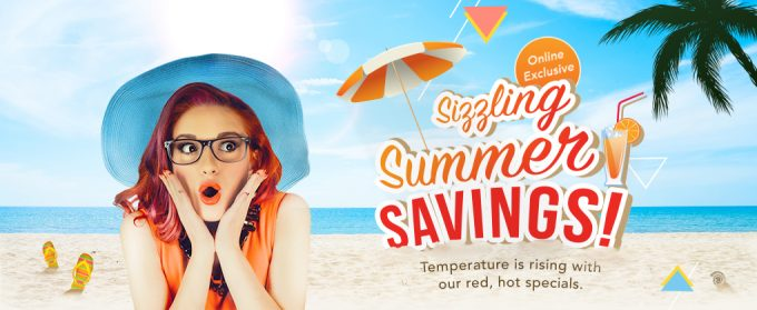 Sizzling Summer Savings at Singapore Changi duty free