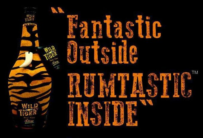 Wild Tiger (Rum) on the loose in Indian duty-free shops