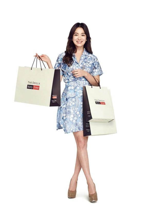 Lee Kwang-soo & Song Hye-kyo to promote Shilla Duty Free
