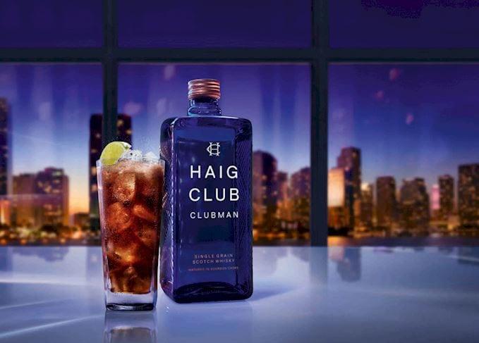 HAIG CLUB duty free