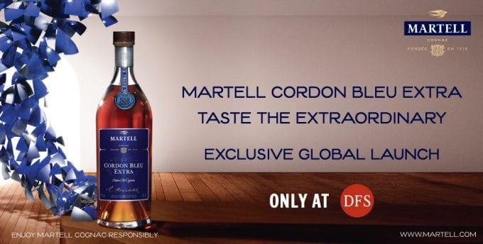 Martell debuts Cordon Bleu Extra: Exclusive global launch at DFS duty-free