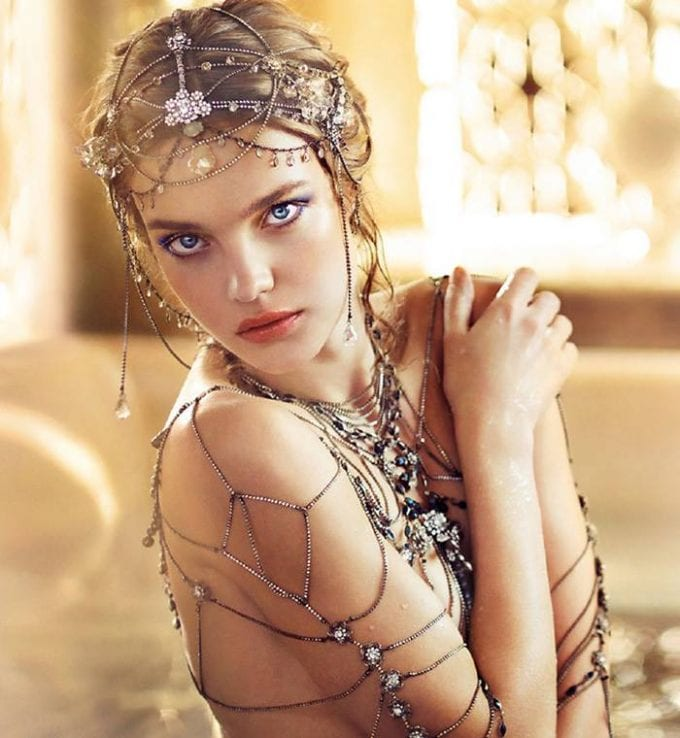 Natalia Vodianova debuts new Guerlain makeup collection