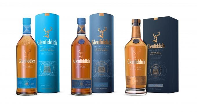 Glenfiddich Cask Collection gets the blues in stylish revamp