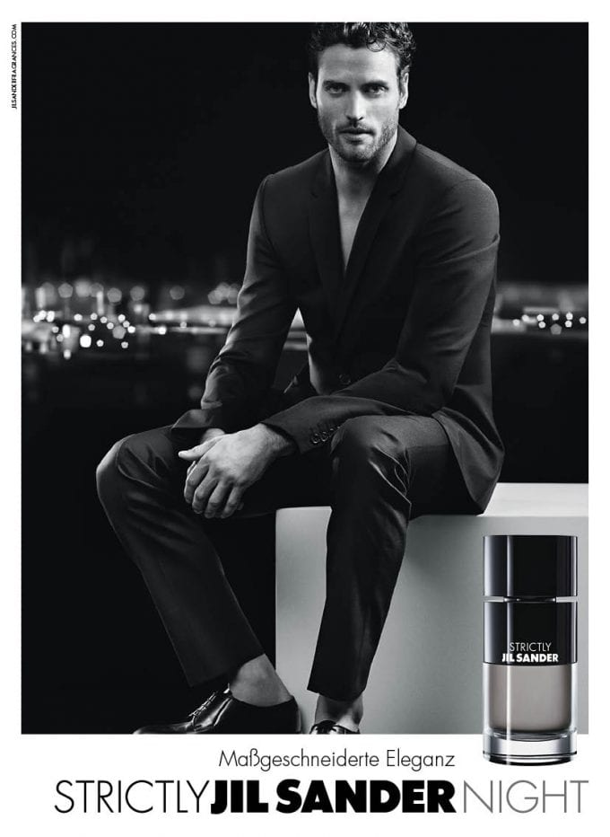Jil Sander unveils Strictly Night edition of men's fragrance
