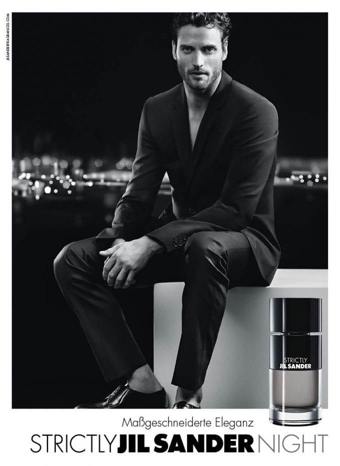 Jil Sander unveils Strictly Night edition of men's fragrance
