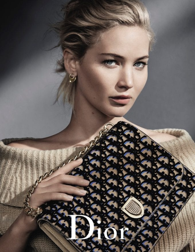 Jennifer Lawrence wows in new Dior handbag campaign