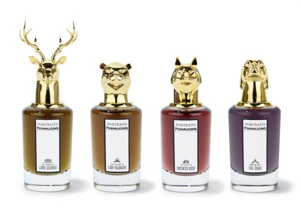 "Penhaligon's launches blue-blooded ""Portraits"" fragrance collection"