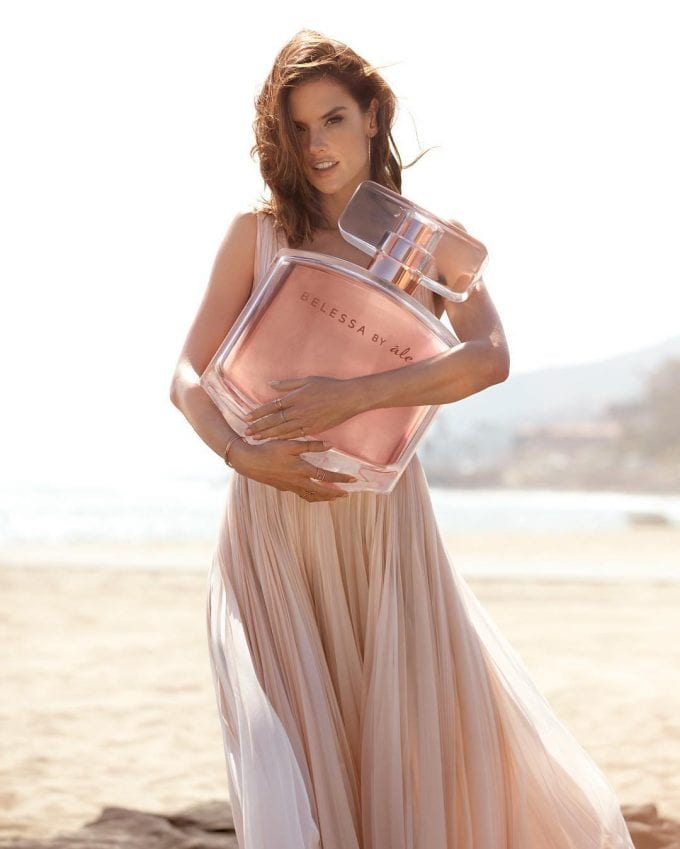 Alessandra Ambrosio launches her first fragrance, Belessa