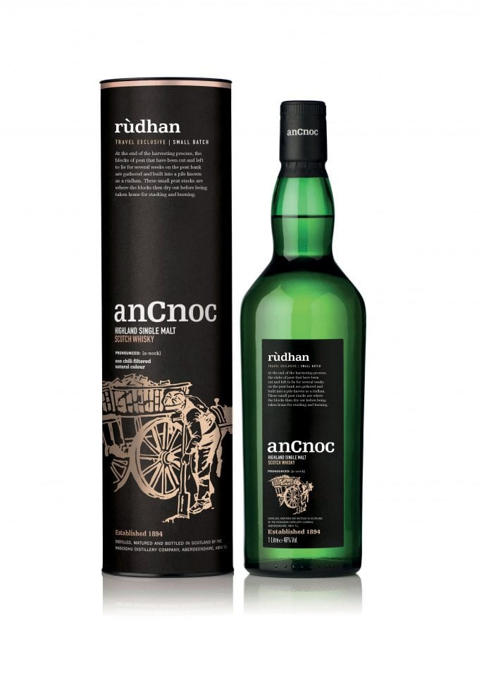 anCnoc Rùdhan Highland Single Malt launches as duty-free exclusive