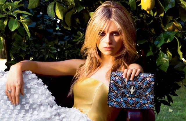 Bulgari signs Lottie Moss as new accessories ambassador