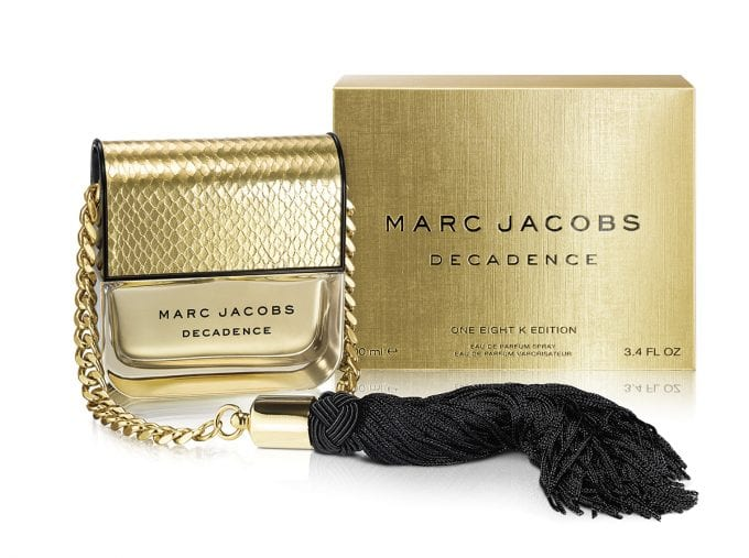 FIRST LOOK: Marc Jacobs unveils Decadence 18k Limited Edition