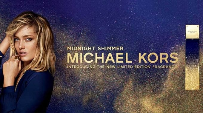 Michael Kors debuts new limited edition fragrance