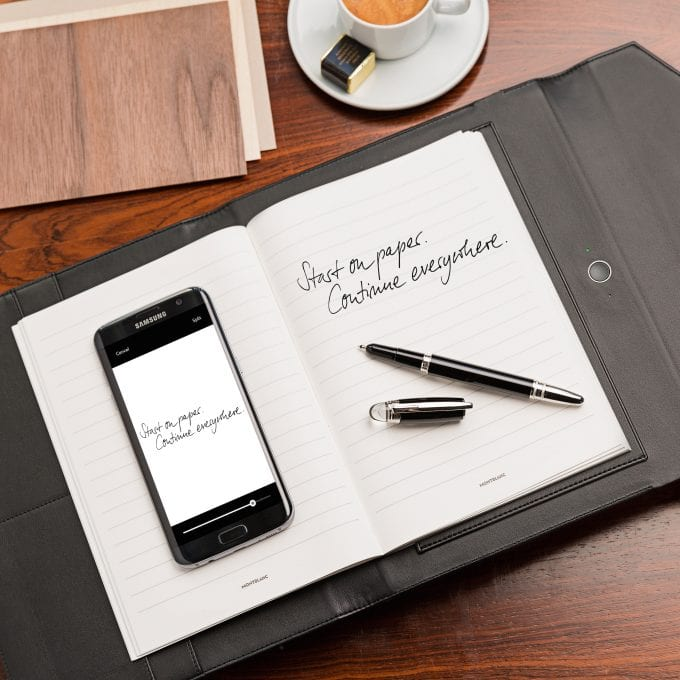 Montblanc links fine writing to the digital world
