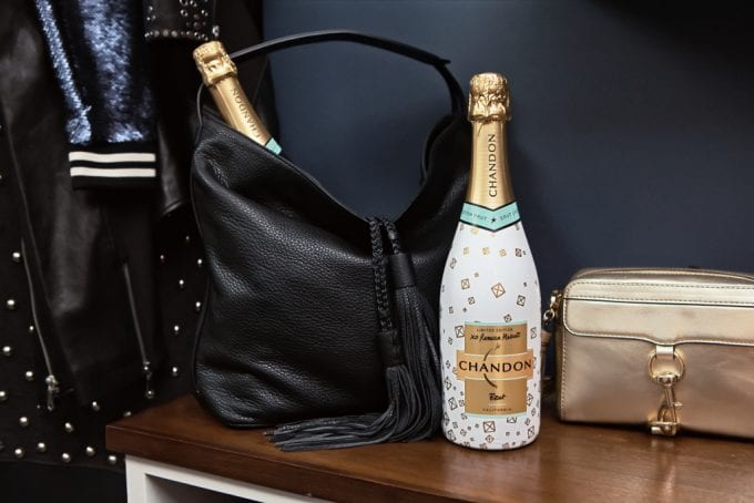 Rebecca Minkoff designs Chandon bottles for the holidays