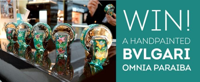 Win a work of art by Bulgari with World Duty Free