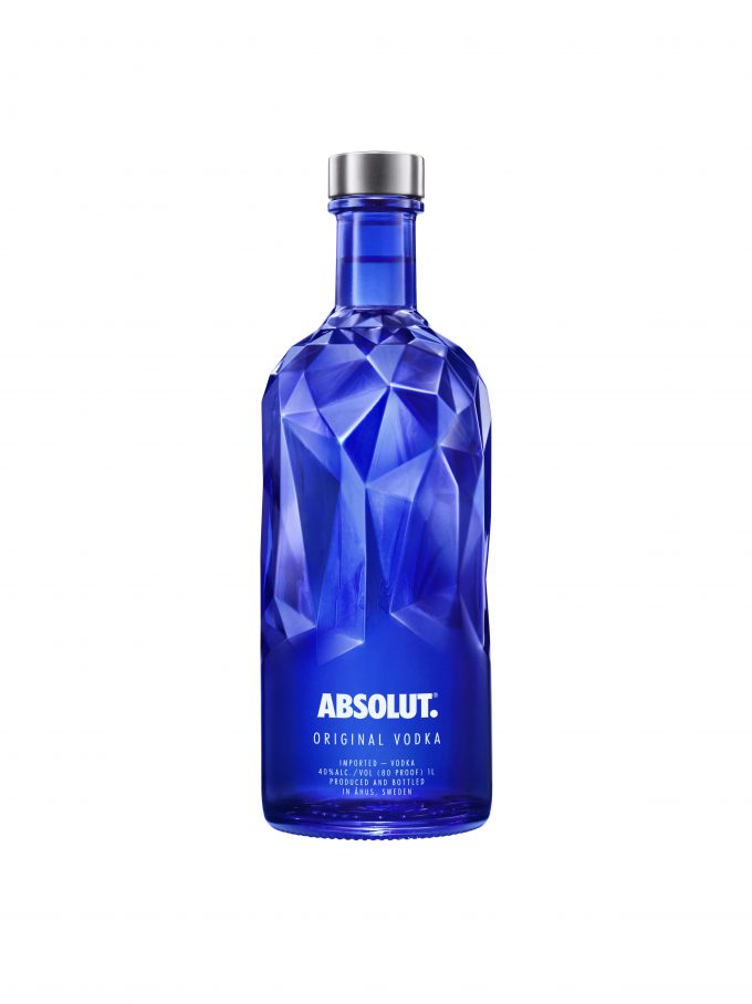 ABSOLUT goes blue with FACET festive limited edition